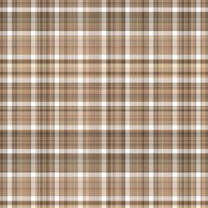 Mid Tone Brown Plaid
