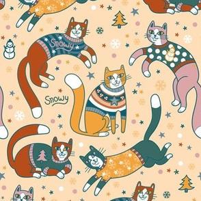 sweater kitties!