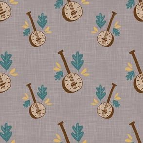 banjo-gray