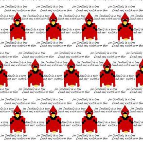 Cardinals watching