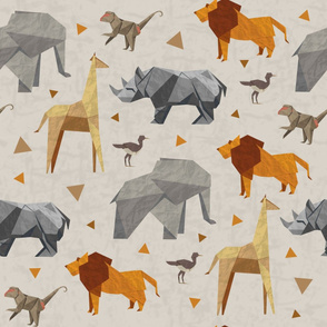 Origami Safari large