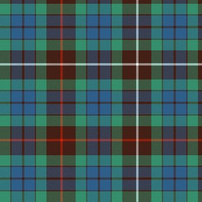 "Fraser hunting tartan, 6"" ancient"