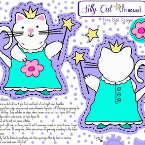 Silly Cat Plushy / Cut & Sew