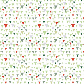 Christmas abstract pattern