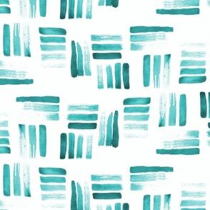 Beach stripes Aqua
