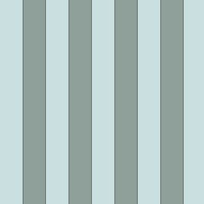 Sage green vertical stripes