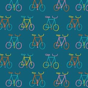 Happy Bikes Blue