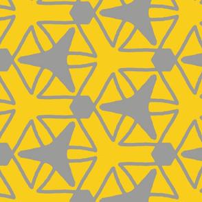 yellow grey rocket