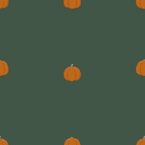 Fall Pumpkins-Orange