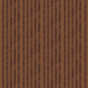Sun Porch Stripe in Tone-on-Tone Coffee