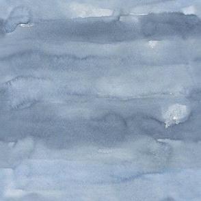 Blue Watercolor / Scandi Leaf