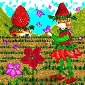 Strawberry Fantasy Montage