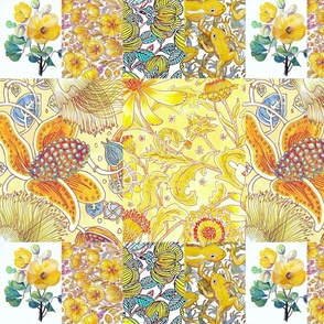 Yellows ,floral compilation