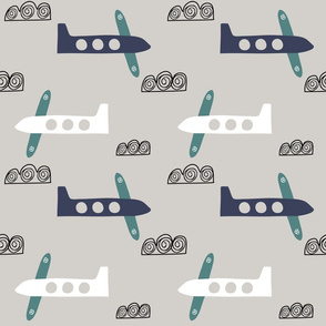 Airplanes flying Planes in sky boys pilot  pattern
