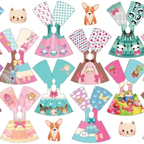 Kawaii Collection 14 inch doll dresses