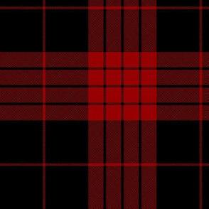 "Cameron black and red tartan variant, 6"""