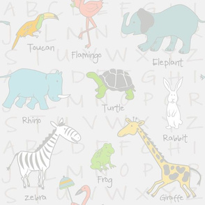 Sweet Zoo Animals Neutral Nursery