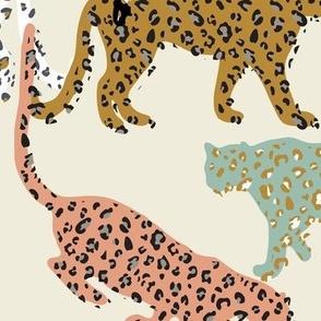 africa africa - leopards - cream - jumbo