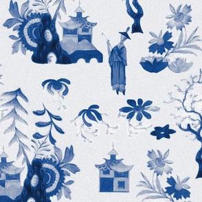 chinoiserie bleu