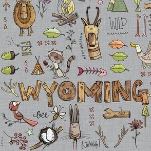 Wyoming Girls - grey