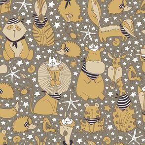 Pattern #97 - Sailor Animals