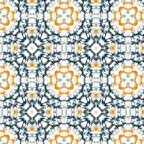 Blue and Orange Circles