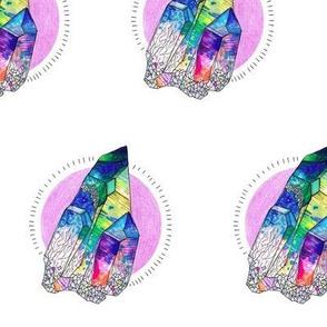 Rainbow Aura Crystal