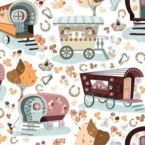 8126603-wandering-wagons-blue-orange-by-paula_ohreen_designs