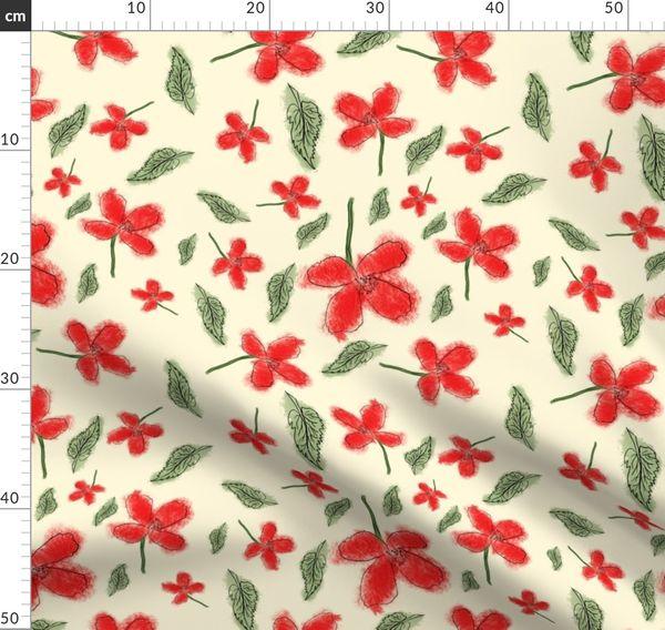 Poppy Seed Spoonflower