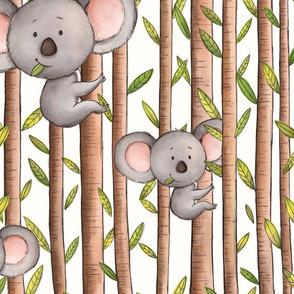 Koala Love Pattern