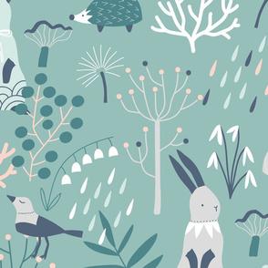 8127261-little-forest-friends-by-kostolom3000