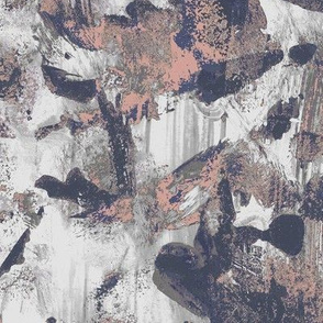 Abstract painted dusty pink