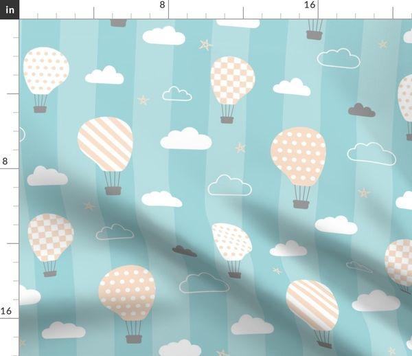 Sweet Dreams Baby S Room Wallpaper On Blue Stripes