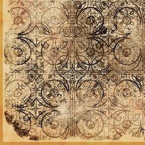 Steampunk Tiles, L