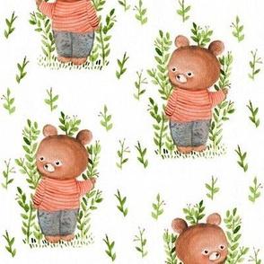 teddy my friend
