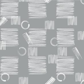 stripes on light grey