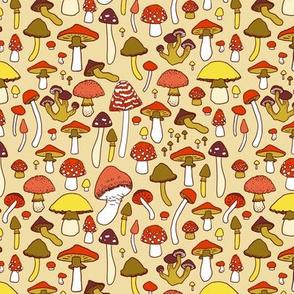 Mushrooms - Retro