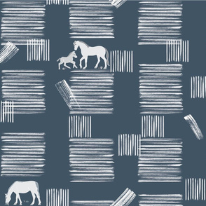 stripes and horses 1