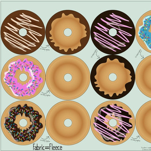 Cut and Sew: Play food Donuts