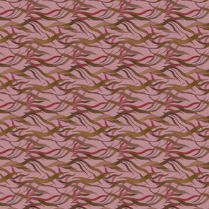 Underwater wonder in pink (vertical repeat)