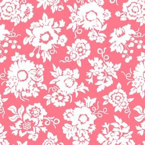 Bouquets coral pink