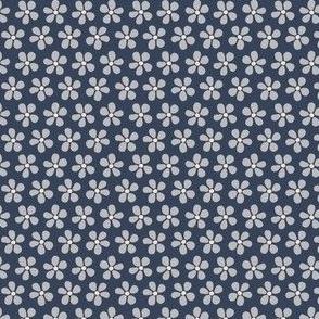 Ditsy Floral midnight blue