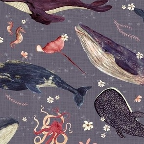 whale's song lavender {large}