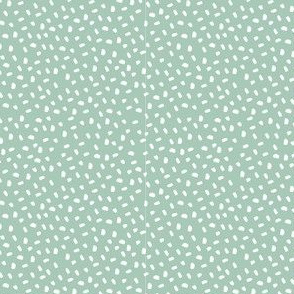 Dots - Light Green