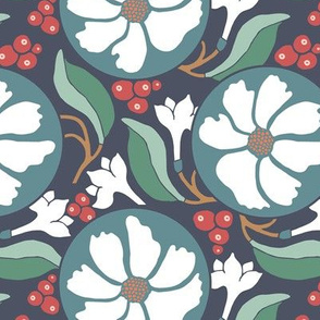 Retro Woodland Berry