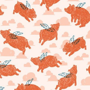Flying Pigs!