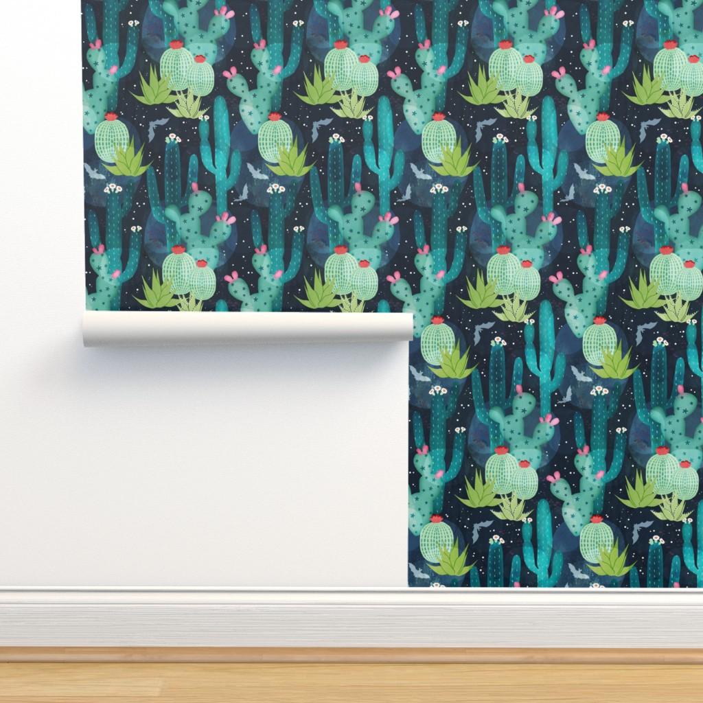 Isobar Durable Wallpaper featuring Desert at night by adenaj
