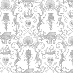 Rococo and a Bottle of Rum: Grey