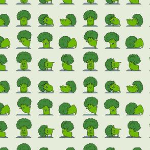 Broccoli Yoga