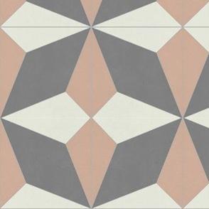 Pink + Gray Diamond 2